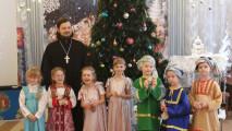 Рождественский утренник вдетскомсаду№40 «Солнышко» города Коломны