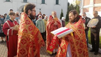 Престольный праздник вхраме Воскресения Словущего