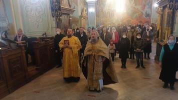 День памяти жертв ДТП наприходе Успенского кафедрального собора г.Коломны