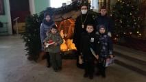 Акция «Добрые дела будут навека» наприходе Успенского кафедрального собора