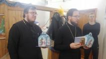 Рождество Христово наприходе Успенского кафедрального собора города Коломны