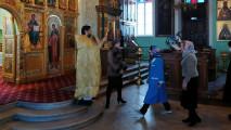 Молебен вдень годовщины интронизация Святейшего Патриарха Кирилла