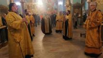 Собор новомучеников и исповедников и престольный праздник придела Тихвинского храма