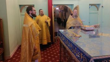 Престольный праздник вТихвинском храме