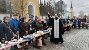 Освящение Пасхальной снеди