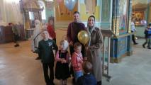 День защиты детей наприходе Успенского собора
