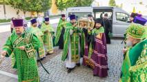 Встреча мощей благоверного князя Александра Невского вКоломне