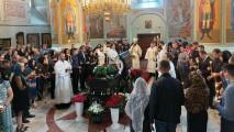 Отпевание почившего главы городского округа Коломна Д.Ю.Лебедева